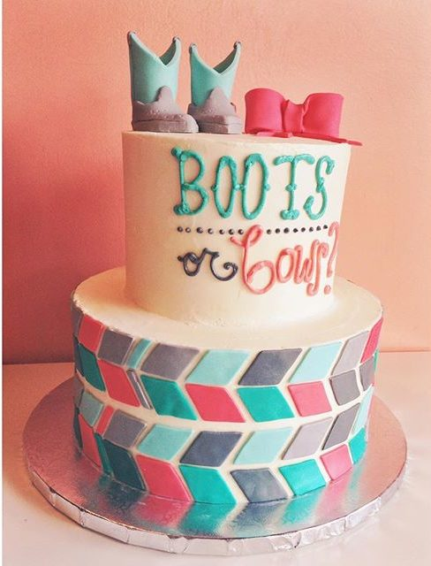 boots or bows gender reveal