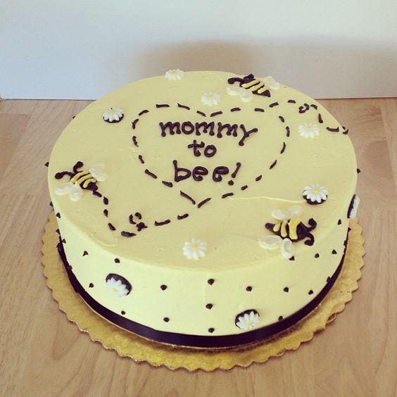 All Buttercream Baby Shower Cake