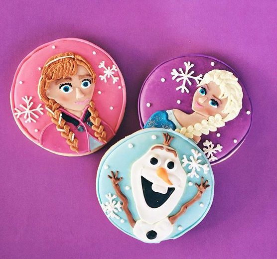 pop culture cookies disney frozen