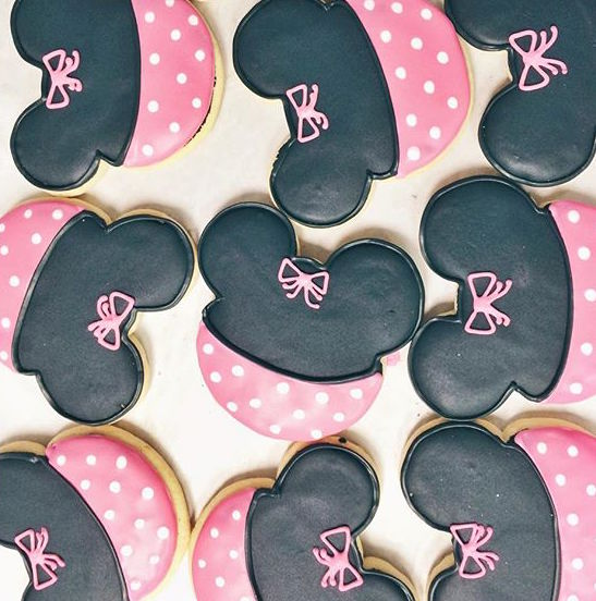 pop culture cookies minnie mouse
