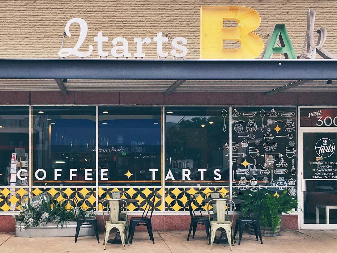 2tarts bakery exterior