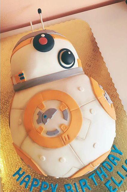 bb8 star wars cake