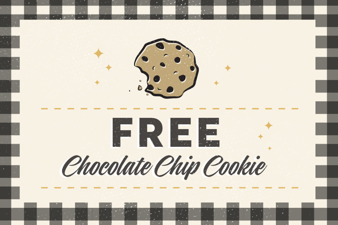 FREE COOKIE COUPON