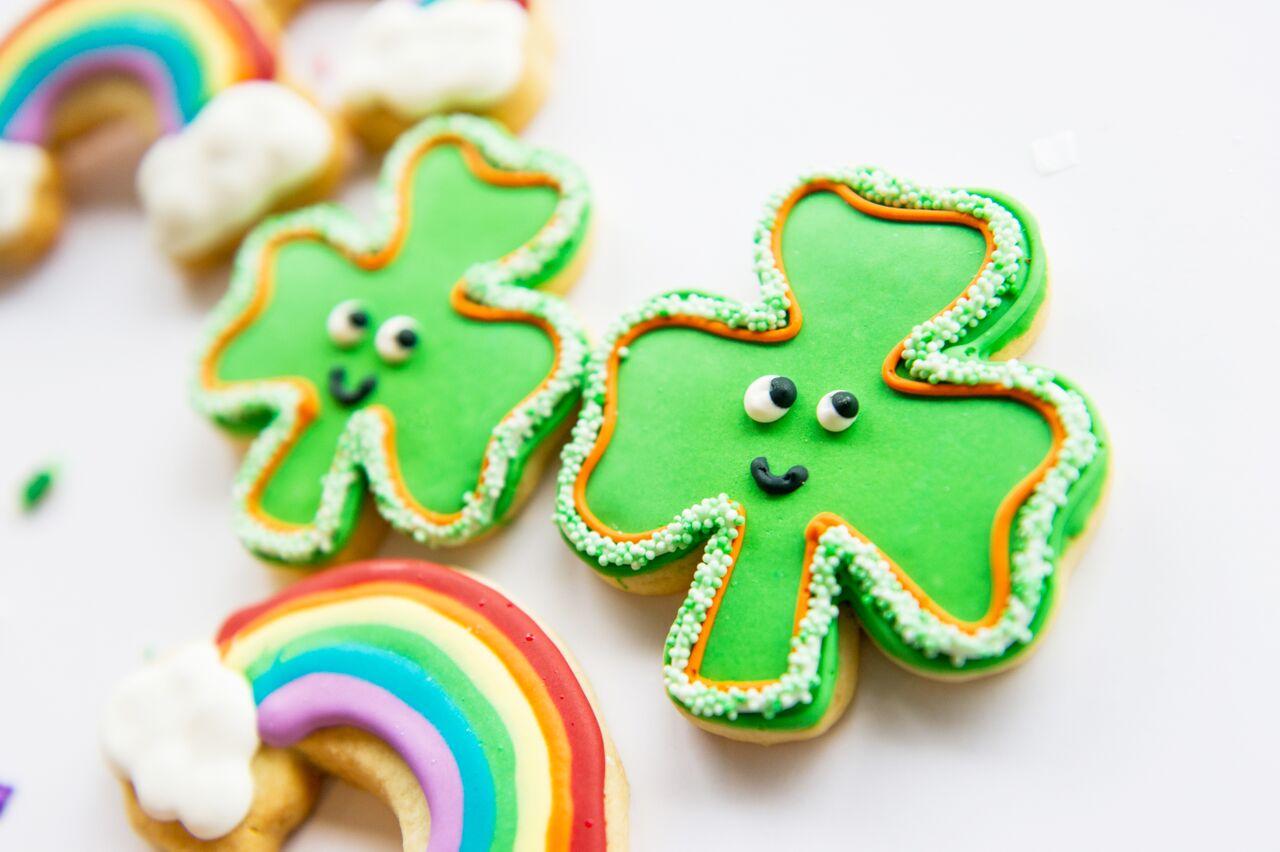 st patricks day cookies
