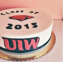 graduation cake uiw