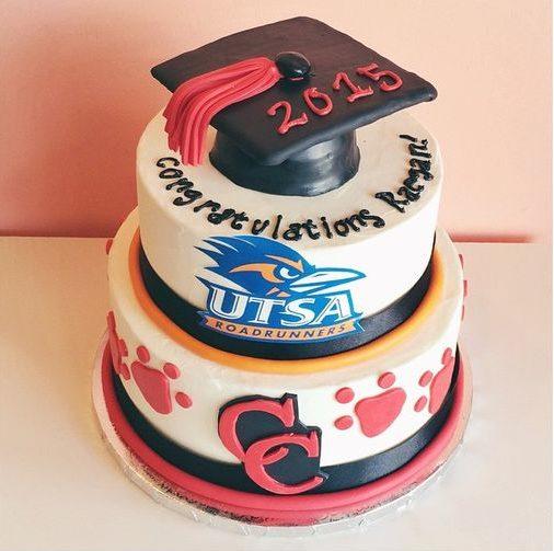 graduation cake utsa