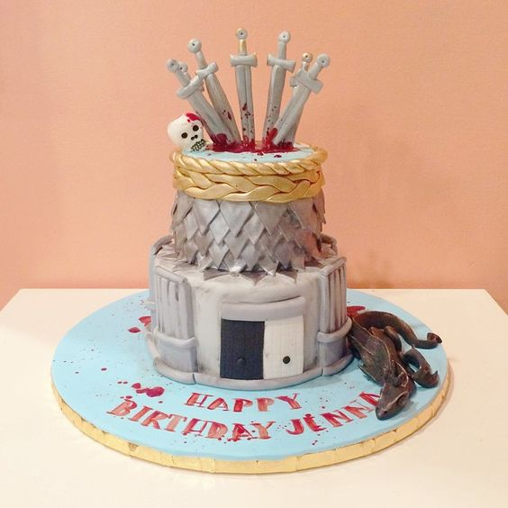 pop culture cake game of thrones