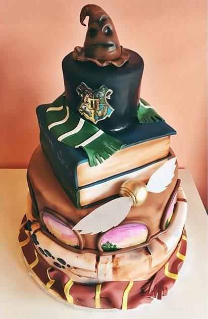 pop culture cake harry potter