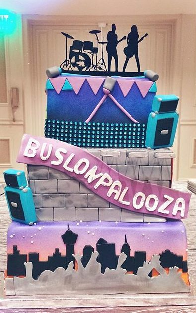 pop culture cake lalapalooza