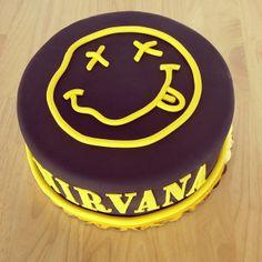 pop culture cake nirvana