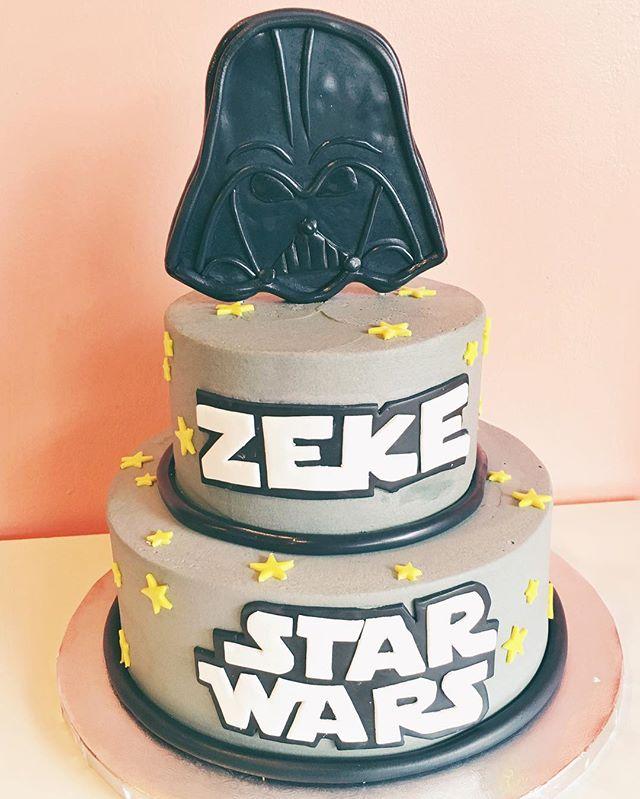 pop culture cake star wars