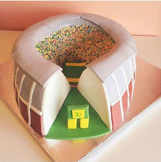 stadium sports cake