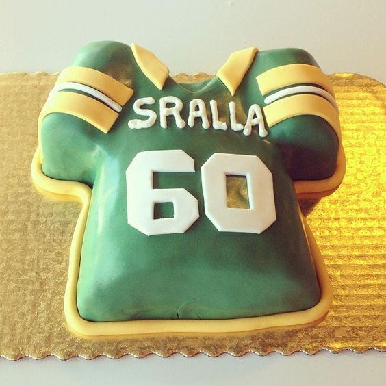 greenbay jersey cake