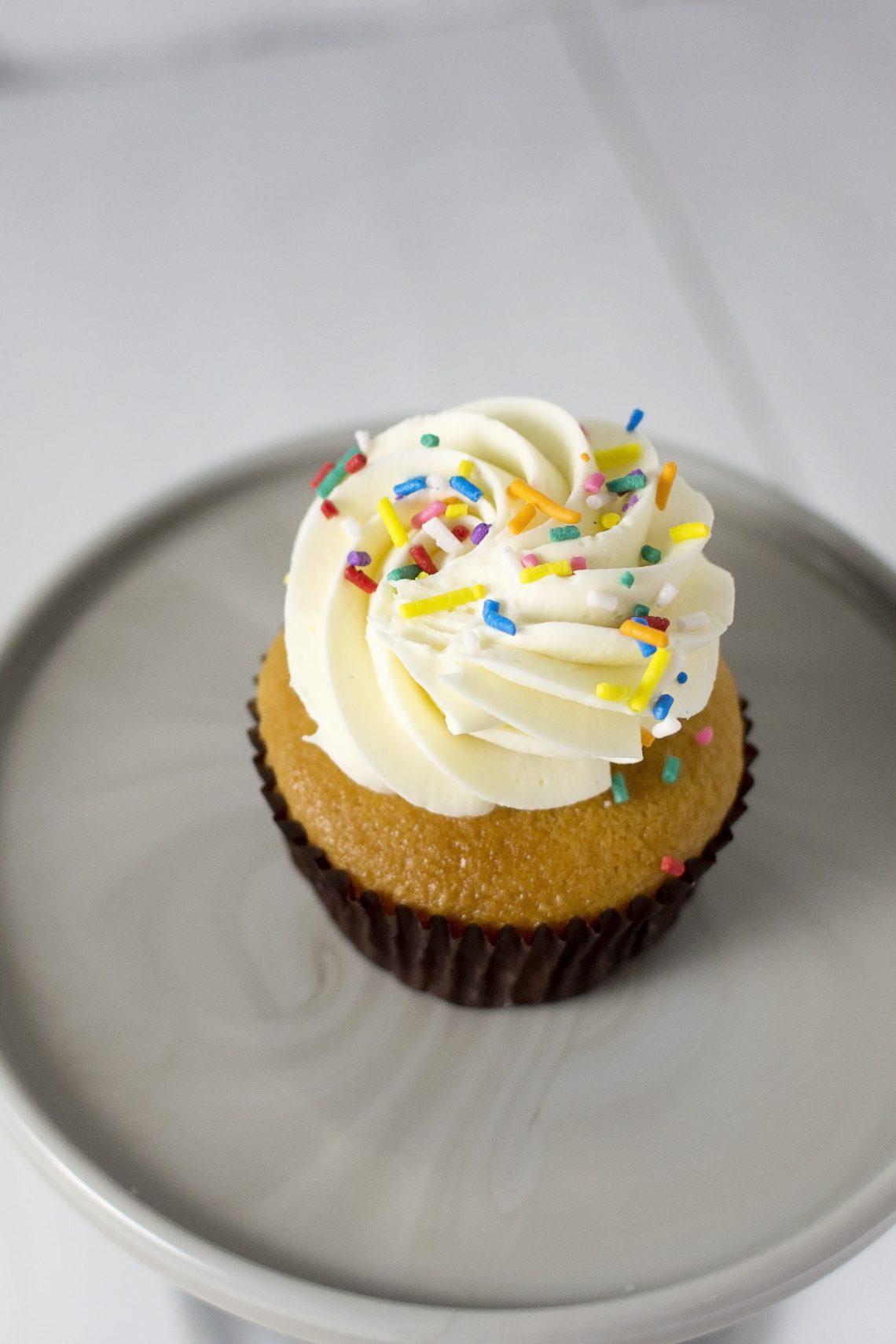 Vanilla Butter Cupcake