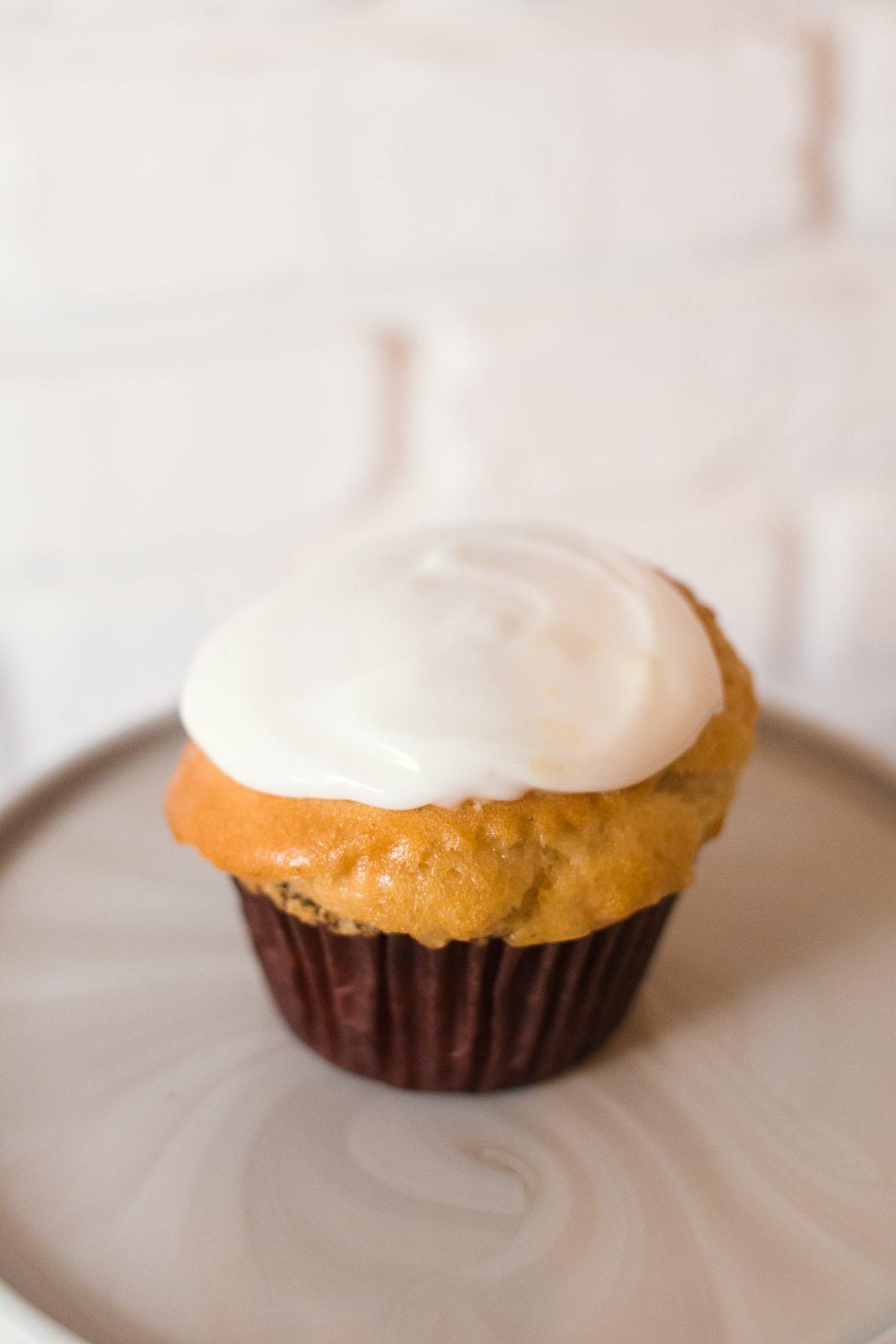 Vegan Lemon Cupcake